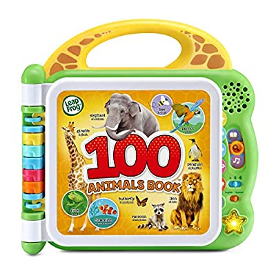 Leapfrog 100 Animals Book by