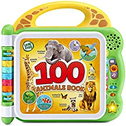 LeapFrog 100 Animals Interactive Bilingual Book, Green