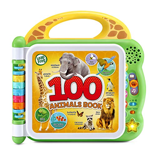 LeapFrog 100 Animals Book, Green