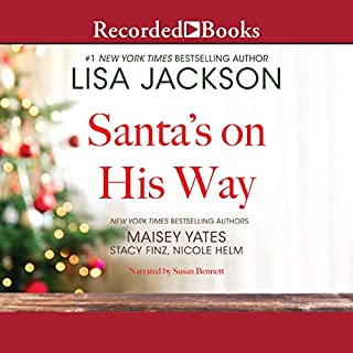 Santa's on His Way audiobook cover art
