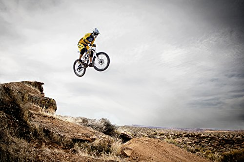 Zopix Wandposter Utah Mountainbike Fahrrad Fotoposter Wandbild - 70x50 cm, versch. Größen - professioneller Digitaldruck - Top-Qualität
