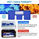 LotFancy Neck Ice Pack - Hot Cold Therapy Wrap for Shoulder, Cervical, Back - Cool Gel Pack for Arthritis, Tendonitis, Sports Injuries, Migraines, Headache Pain, Microwavable Heating Pad, Reusable #2