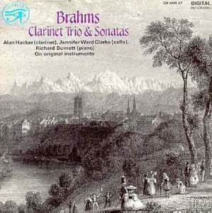 Johannes Brahms, Clarinet Trio and Sonatas