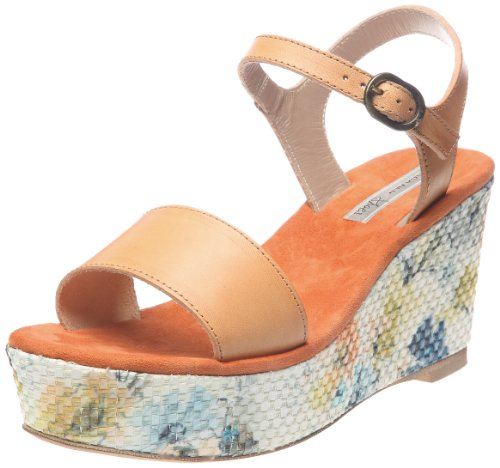 Tosca Blu Shoes Keil Sandalette Orange - Orange (50 Arancione) 41