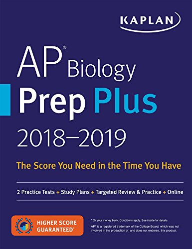 AP Biology Prep Plus 2018-2019: 2 Practice Tests + Study Plans + Targeted...