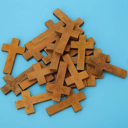 Voluxe Kruisbeeld vorm Hout, Lichtgewichtq Multifunctionele Kruisbeeld Vorm Craft voor Decoratie Decoratie Decoratie voor Girft (Beige)