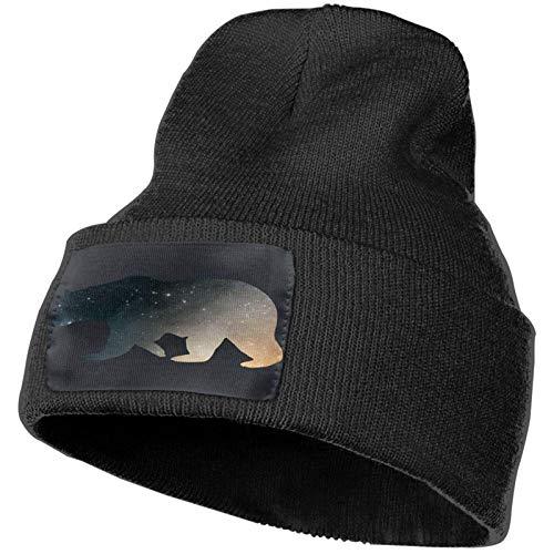Sombrero de Punto Sugar Skull Girl Face Gorras de Punto de Invierno Suave Gorros de Calavera cálidos para Hombres y Mujeres