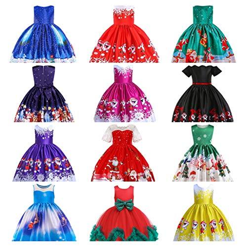 Snakell Mädchen Kinder Blumenmädchenkleider Tanzkleid Freizeit Kleid Prinzessin Kleider Partykleid Ballettkleidung Eiskönigin Kleider Hochzeits Festzug Kleid Hochzeitskleid Tanzrock Rock Kleid