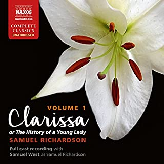 Clarissa, or The History of a Young Lady, Volume 1  audiobook cover art