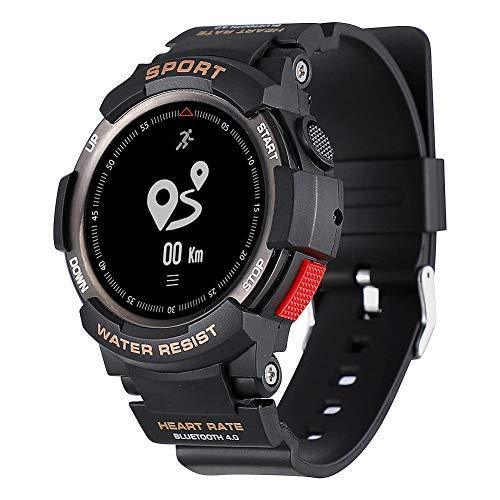 Zerone Fitness Tracker Orologio Sportivo IP68 Impermeabile Outdoor Smartwatch Bluetooth 4.0 Salute Condizioni Bracciale GPS Pedometro Monitor del Sonno per Donne Uomini Corsa Climing Nuoto