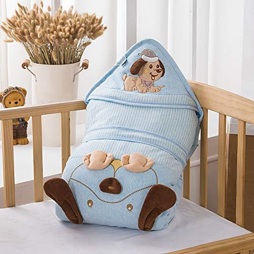FREEDL Manta Dormir para El Bebé Otoño Invierno, Baby Swaddle Wrap Manta Envolvente Saco-s De Dormir Bebe Conjuntos De Manta Suave, Saco De Dormir Acolchado 0 a 12 Meses 98cm