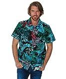 Joe Browns Terrific Tropic Shirt Camisa, A-Multi, M para Hombre
