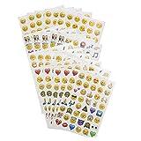 Bunilili Emoji Aufkleber 960 Cute für Kinder Kunst- und Bastelprojekte, Partygeschenke, Schrottbuchungsdekoration