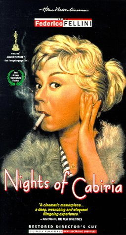 Nights of Cabiria [USA] [VHS]