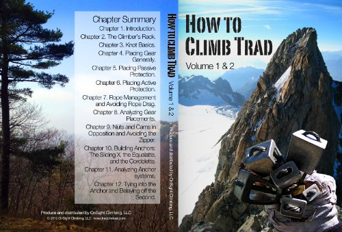 How to Climb Trad Instructional Climbing DVD Volumes 1 and 2
