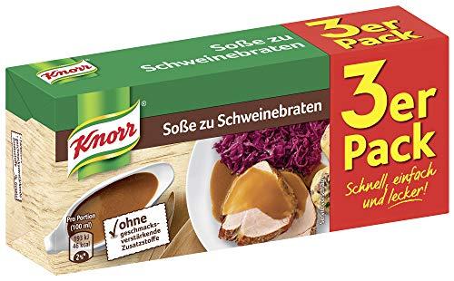 Knorr Schweinebraten Soße 3 x 250 ml, 15er-Pack