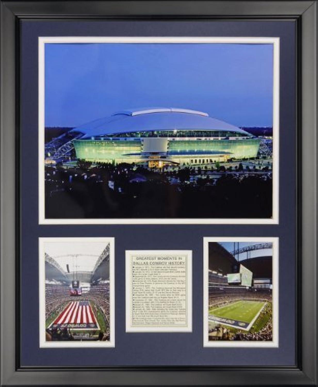 Legenden Sterben Nie Dallas Cowboys–NEUE Texas Stadium gerahmtes Foto Collage, 40,6x 50,8cm von Legends Never Die