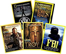 Ultimate National Geographic 5-Volume DVD Collection: The FBI / Troy: Beyond the Movie / Lord of the Rings: Fellowship of the Ring / Return of the King / Ambassador: Inside the Embassy [NatGeo / Nat G