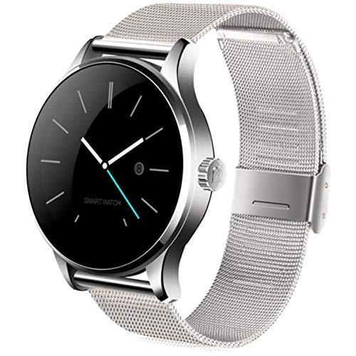 K88H Smart Watch Tracker Bluetooth Orologio da polso Cardiofrequenzimetro sportivo Pedometro Dialing Smartwatch Phone per Android IOS