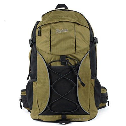 Backpack éclairage extérieur Sac de randonnée imperméable/32L Sac à Dos de randonnée Riding-Green 32L