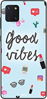 Samsung Galaxy Note10 Lite Case Cover Good Vibes Ready to Pose