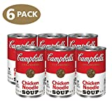 Campbell's Condensed Chicken Noodle Soup, 10.75 Ounce, (Pack of 6)