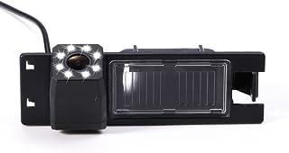 Dynavision Universal Vista Trasera cámara CCD Chip para Opel Astra H/Corsa D/Meriva A/Vectra C/Zafira B,FIAT Grande Modelos de Coches (Negro)