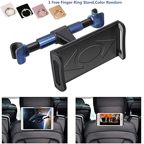 ANKIA Auto Hoofdsteun Mount, 360 ° Rotated Auto Hoofdsteun Beugel Tablet Hoofdsteun Houder Compatibel met 4