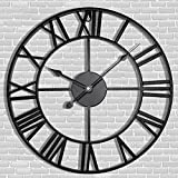 Antique Tower 24 inch Large Roman Numeral Wall...