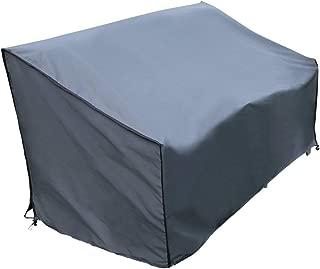 147x83x79 cm Dandelionsky Copridivano Esterno Impermeabile con Manici 147x83x79cm a Circa 2 Posti Copertura di Panca Anti-Vento Anti-Polvere Anti-UV in Oxford 210D Copertura da Giardino