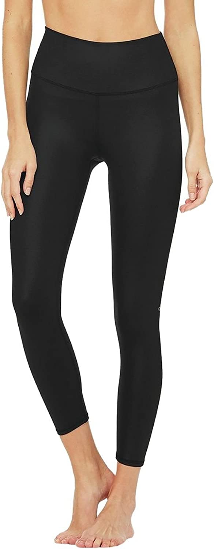ALO Womens 7 8 High Waist Airbrush Leggings