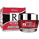 Retinol Night Creams Review and Comparison