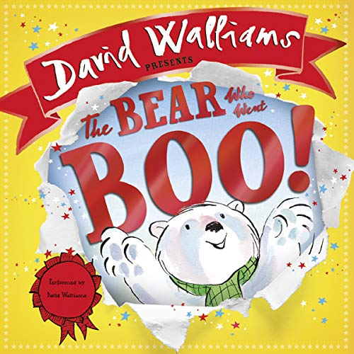 The Bear Who Went Boo! audiobook cover art
