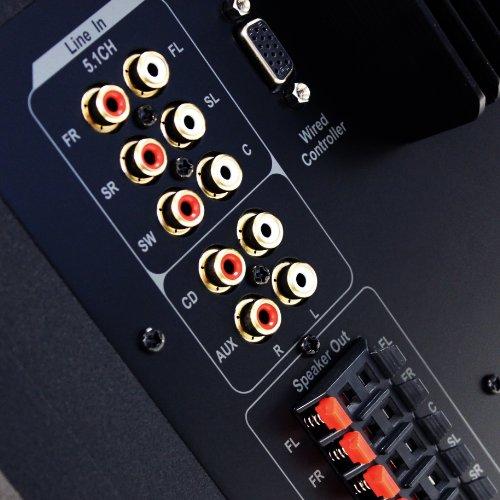 EDIFIER S550 Encore 5.1 Lautsprechersystem (540 Watt) mit Infrarot-Fernbedienung und kabelgebundenem Controller