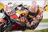 Poster 130 x 90 cm: Marc Marquez, Repsol Honda Team,