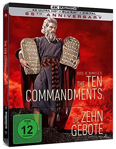 Produktbild von Die zehn Gebote - Limited Steelbook (4K Ultra HD) (+ Blu-ray 2D)