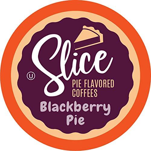 Slice Flavored Coffee, Blackberry Pie for Keurig K Cup Brewers, 40 Count