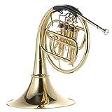 ammoon corno b / bb appartamento 3 brass key lacca singola riga split strumento di vento con cupronichel bocchino caso