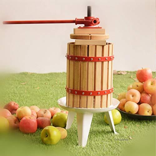 XVCHANGQING Entsafter Manuelle presse saft maschine DIY traubenwinzer saft restentrennung Hause apfelpresse saftpresse für honig, obst, gemüse, rot