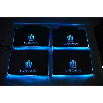 CROWN(クラウン)新型車対応マットLEDイルミネーションRGB リモコン付き 足ランプLED 4枚セット クラウン180/200/210系全グレード対応 [並行輸入品]