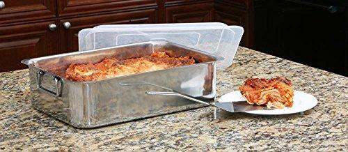 Cookpro 531 4Pc Stainless Steel Roaster Lasagna Pan Roaster