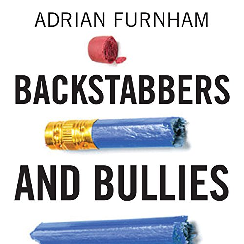 Backstabbers and Bullies audiobook cover art