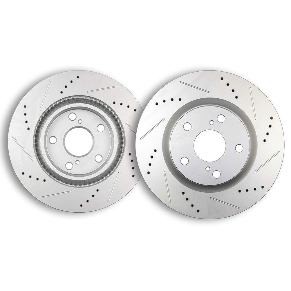 Amazon.com: Brake Rotor,ECCPP Front Drilled Slotted Brake Discs Rotors Kit fit for Lexus ES300h ES350,for Pontiac Vibe,Scion tC,for Toyota Avalon Camry Matrix RAV4: Automotive