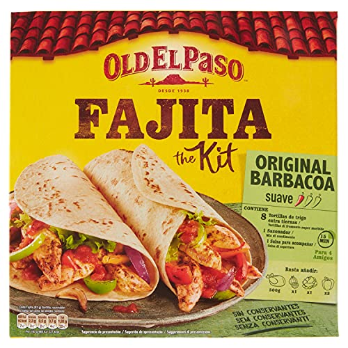 Old El Paso - Kit para Fajitas - 500 g