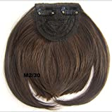 Fashion Hair Extensions de cheveux Bang deux côté long extensions de cheveux...