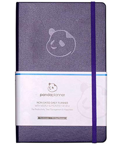 Daily Planner 2020-2021 by Panda Planner I High Performance Time Management Undated Planner I Calendar and Gratitude Journal to Increase Productivity I Undated Monthly Weekly Day Planner