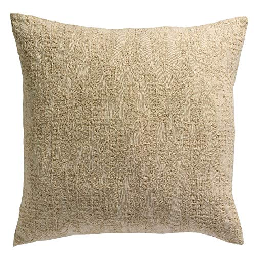 Vivaraise - Cushion Cover - Cushions & Cushion Covers - Stonewash Cushion Cover Santana in Jute - 45x45