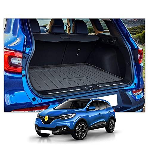 CDEFG Alfombrillas Alfombra para Renault Kadjar SUV Esteras del Maletero del Coche Antideslizante accesorios