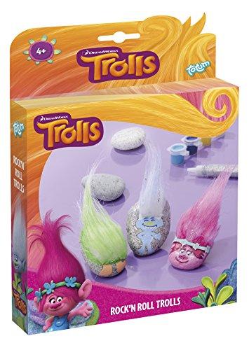 Troll Figuren aus Steinen – zum Selber Verzieren mit Stickern, Troll-Haaren und Farbe