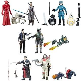 Star Wars: The Last Jedi 3 3/4-Inch Action Figure 2-Packs Wave 2 Set